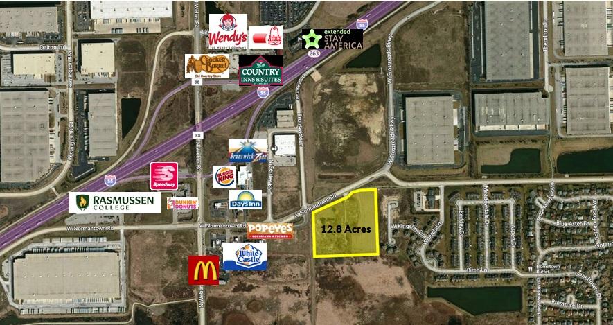 Romeoville Multifamily Development Land
