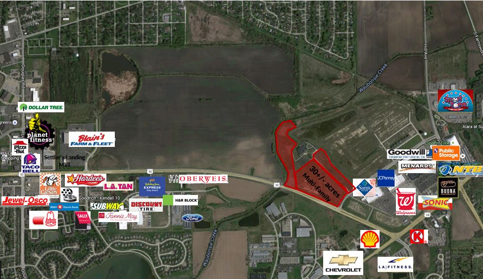 Montgomery Multifamily Development Land