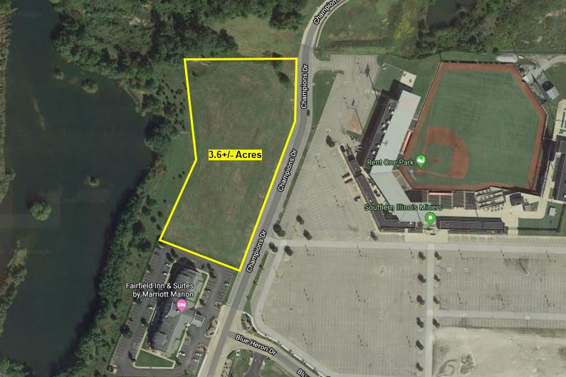 3.6+/- Acres Development Site For Sale