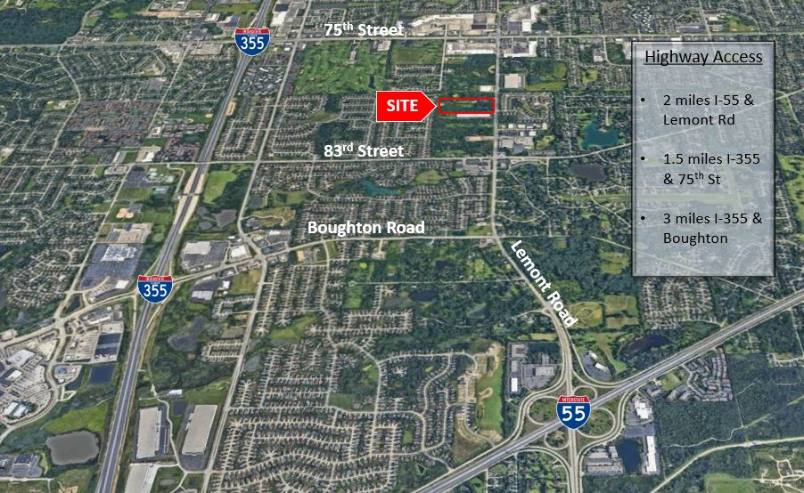 14+/- Acres - Woodridge, IL