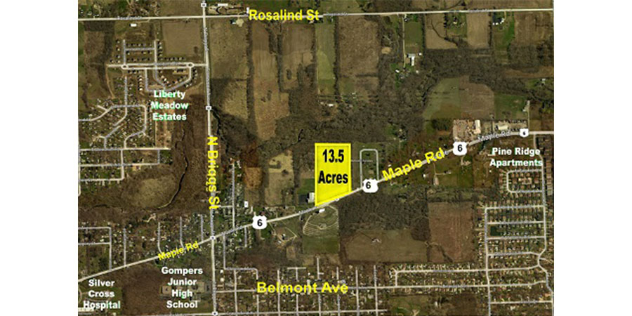 Joliet - 13.5 Acres on Maple