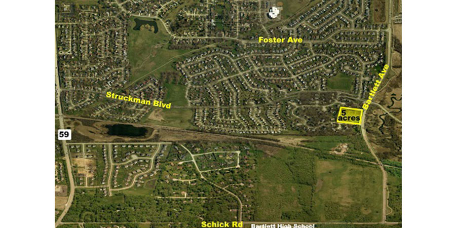 Bartlett - Single Family Home Development Site