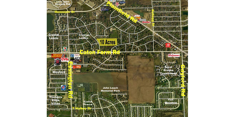 Joliet - 10 Acre Residential Development Site